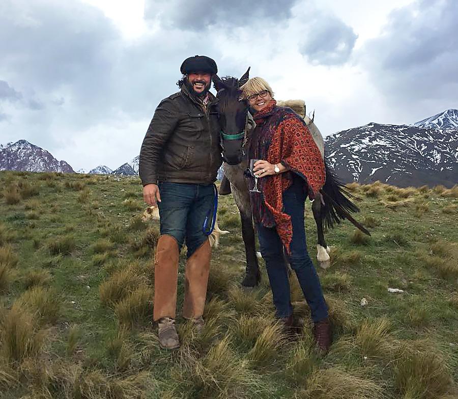 Patricia Nash in Peru